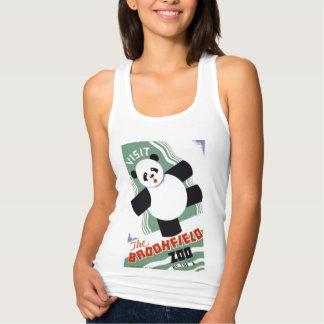 Visita bonito o vintage WPA do jardim zoológico de T-shirts