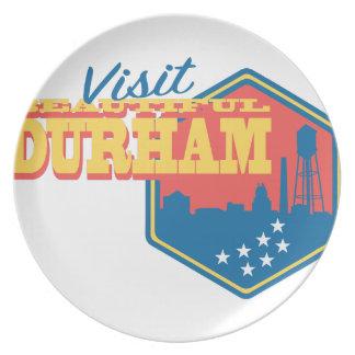 Visita Durham bonito Pratos