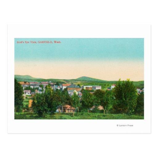 Vista aérea da cidade 9 cartão postal