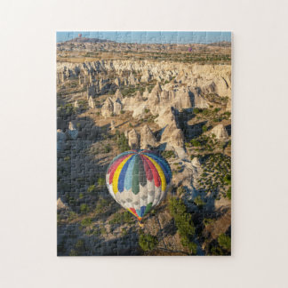 Vista aérea de balões de ar quente, Cappadocia Quebra-cabeças