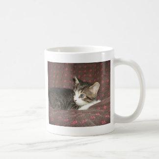 Vista ao redor caneca de café