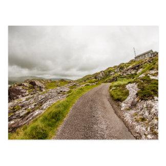 """""""Vista cartão da costa irlandesa"""""""