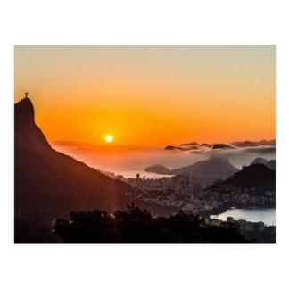 Vista Chinesa, Rio de Janeiro, Brasil Cartão Postal