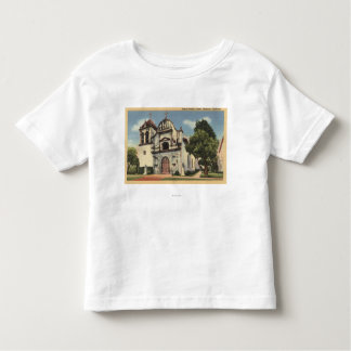 Vista da capela real de Presidio Tshirts
