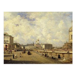 Vista da catedral do salvador do cristo cartão postal