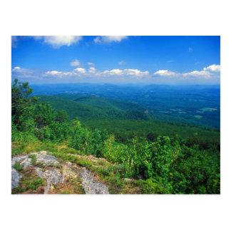 Vista da montagem Everett, Berkshires Cartão Postal