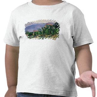 Vista da montagem Marseilleveyre e da ilha de Camisetas