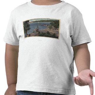 Vista de banhar o ponto da angra camisetas