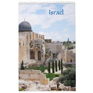 Vista de Israel, calendário 2018