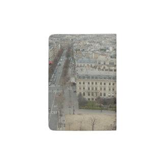 Vista de Paris Capa Para Passaporte