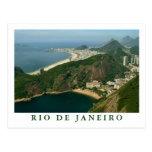 """""""Vista de Sugarloaf, cartão de Rio de Janeiro"""" Cartoes Postais"""