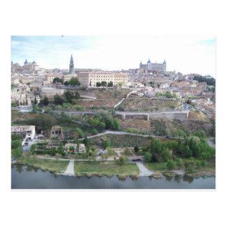 Vista de Toledo Cartão Postal