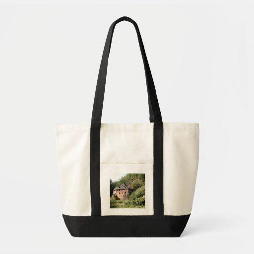 Vista de uma casa senhorial (foto) bolsa para compras