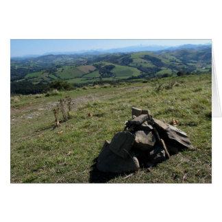 Vista do cartão de Pyrenees
