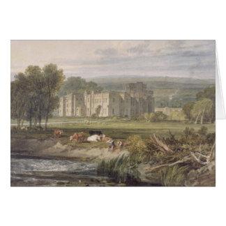 Vista do Hampton Court, Herefordshire, do sou Cartão Comemorativo