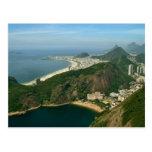 """""""Vista do naco de açúcar, cartão de Rio de Janeiro Cartao Postal"""