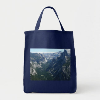 Vista do parque nacional de Yosemite do ponto da Sacola Tote De Mercado