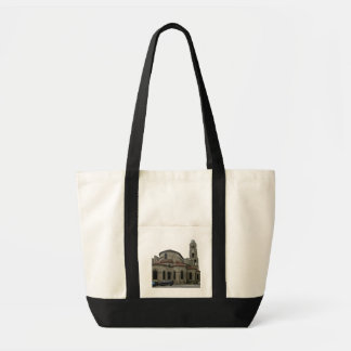 Vista do pináculo da igreja (foto) bolsa de lona