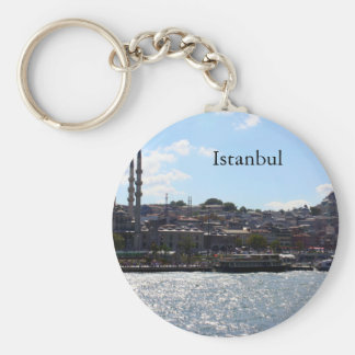 Vista do porto de Istambul Chaveiros