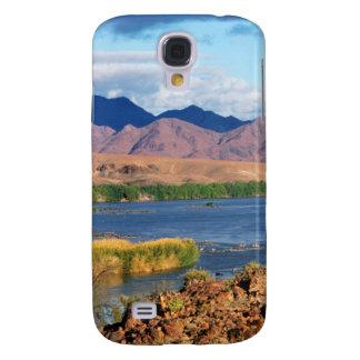 Vista do rio alaranjado, Richtersveld Capa Samsung Galaxy S4