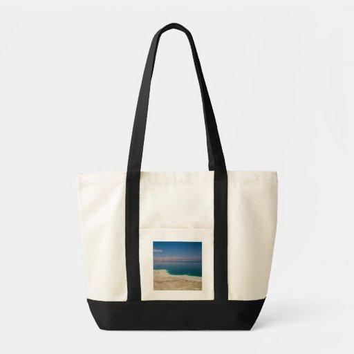 Vista elevado do Mar Morto Bolsas Para Compras