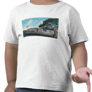 Vista exterior do Hospital Geral, Presidio Camiseta
