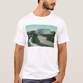 Vista exterior do terraço de Presidio Camiseta