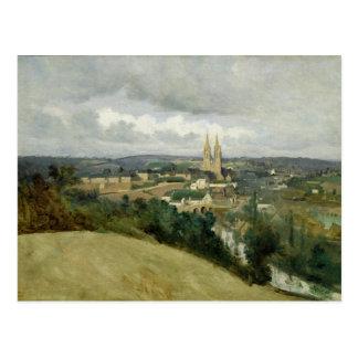 Vista geral da cidade do Santo-Lo, c.1833 Cartão Postal
