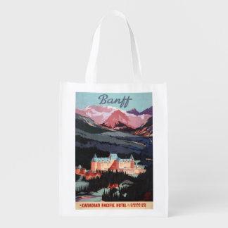 Vista geral do poster de Banff Springs Hotel Sacolas Ecológicas