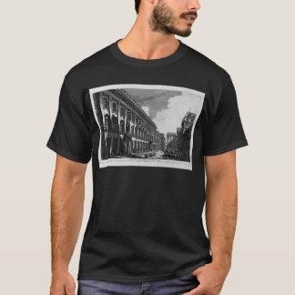 Vista no palácio de Quirinal da montagem do a Camiseta