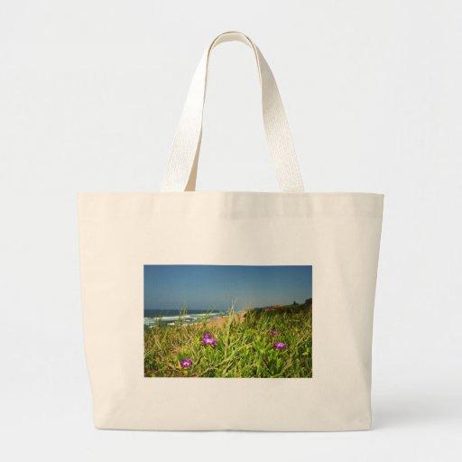 Vista para o mar bolsas para compras