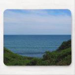 Vista para o mar obstruída mousepads