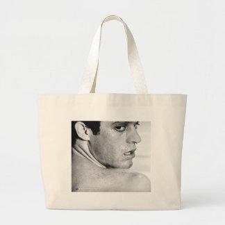 Vista para trás bolsas para compras
