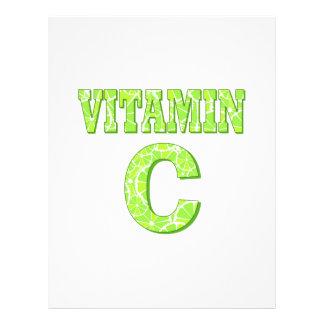 Vitamina C Panfletos Personalizados