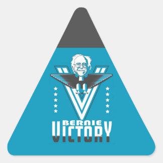 Vitória com Bernie Adesivo Triangular