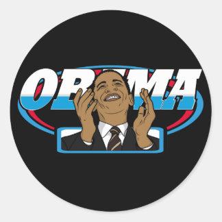 Vitória de Obama Adesivo