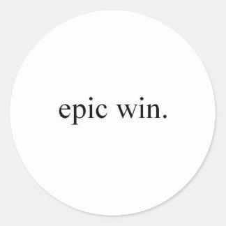 vitória épico adesivo