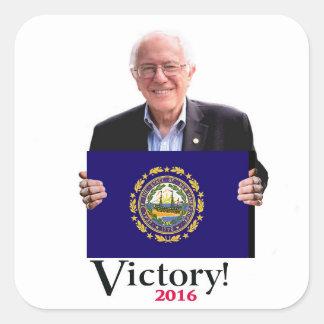 Vitória para Bernie! Adesivo Quadrado