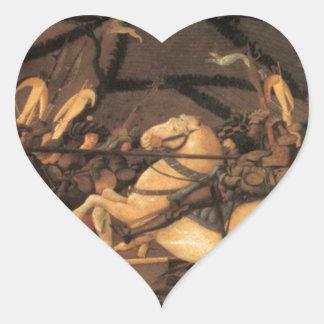 Vitória sobre o della Ciarda de Bernardino por Adesivo Coração