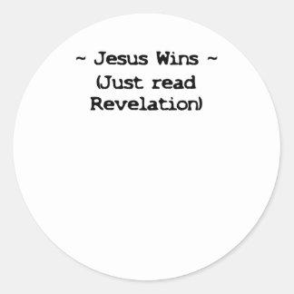 Vitórias de Jesus Adesivo