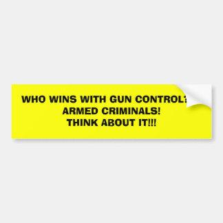 VITÓRIAS DO WHO COM CONTROLO DE ARMAS??? CRIMINOSO ADESIVO PARA CARRO