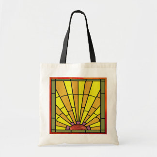 Vitral 3 do art deco bolsa tote