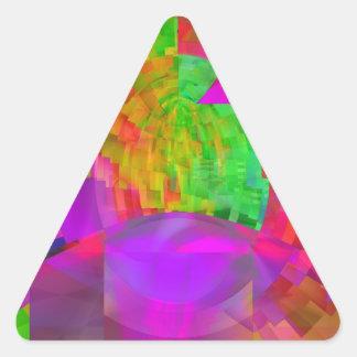 Vitral Adesivo Triângulo