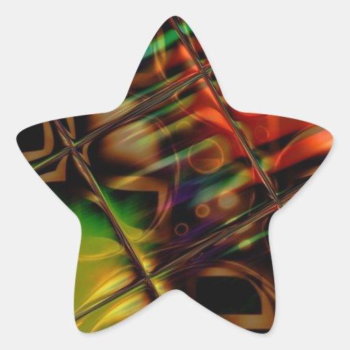 Vitral Adesivos Estrelas
