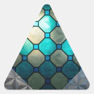 Vitral Adesivo Triangular