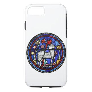 Vitral Chartres do ano dos carneiros da ram do Capa iPhone 7