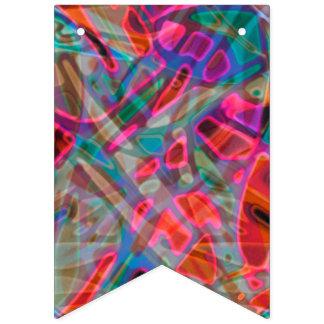 Vitral colorido da bandeira da estamenha