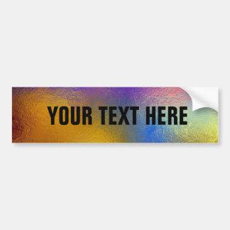 Vitral, janela brilhante colorida transparente adesivos