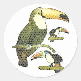 Vitral Toucan Adesivo