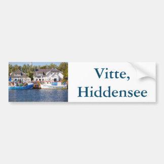 Vitte, Hiddensee Adesivo Para Carro